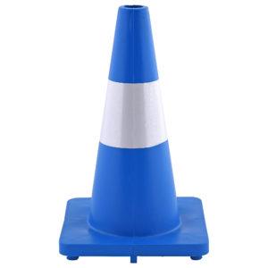 Blue Soft PVC Road Cones (Safety Cones) | Venture Plastics