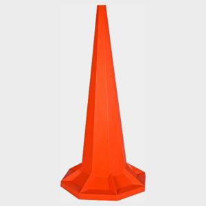 Orange 1.8m Safety Cones | Plastics Manufacturing & Design | Venture Plastics