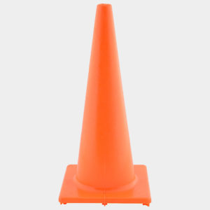 Orange 1.8m Safety Cones | Plastics Manufacturing | Venture Plastics