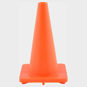 Orange Soft PVC Road Cones (Safety Cones) | Venture Plastics